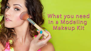 is your modeling makeup kit ready for your next photo shoot