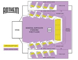 Hard Rock Rocksino Seating Chart 15 Comprehensive Wharf Amphitheater Seating