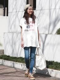 デニム美人になるレディースのジーンズデニムパンツの春夏コーデ Suwai
