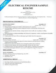Certified Quality Engineer Sample Resume Gorgeous Sample Resume For Electrical Engineer Mmventuresco