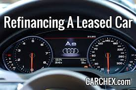 Refinancing A Leased Car