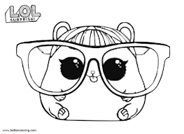 Lol Pets Coloring Pages Cherry Ham Migliori Pagine Da Colorare