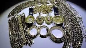 for 45d3f c2324 395 30 piece yellow gold whole deal cubanropeherringbonegucci chains