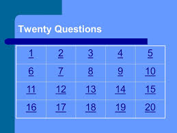 2 twenty questions subject translating expressions solving equations word problems