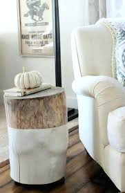 wood stump coffee tables reclaimed wood stump table popular of tree stump nightstand with best tree