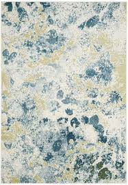 teal and cream rug ivory light blue com safavieh madison collection madc cream and light grey