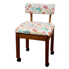 arrow office furniture. Arrow Oak Sewing Chair With White Fabric Riley Blake Notion : More Office Furniture - Best Buy Canada