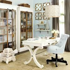 colorful feminine office furniture. Contemporary Furniture We Combined Soft Silver Blue With Hints Of Gold To Create A Feminine Office  Space You Most Certainly Wonu0027t Mind Spending Time In For Colorful Feminine Office Furniture R