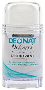 Купить DeoNat <b>дезодорант</b>, <b>кристалл</b> (<b>минерал</b>), <b>Natural Crystal</b> ...