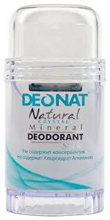 DeoNat <b>дезодорант</b>, <b>кристалл</b> (минерал), <b>Natural Crystal</b> (twist up ...
