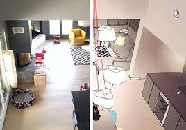 Attractive Solutions Du0027architectes Pour éclairer Un Salon Haut De Plafond