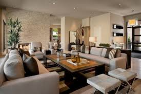 contemporary gray living room furniture.  Contemporary Living Room Modern Brown And Gray Room Design Stone Wall  Fireplace Furniture Set On Contemporary O
