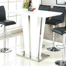 chrome glass bar table uk glass bar table square breakfast high black galaxy glass bar table round and stools