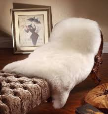 how to clean wash a sheepskin rug