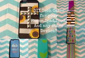 5 diy tech cases for your phone ipad ipod and any other device elegant ideas design