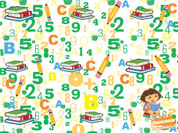 dora the explorer numbers wallpaper