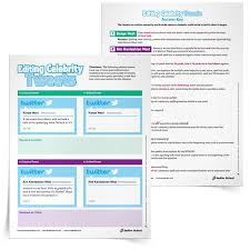 Celebrity Tweets Worksheet for Revising and Editing Practice ...