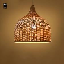 shade pendant lighting. bamboo wicker rattan shade pendant lights fixture rustic japanese style tatami hanging lamp lustre luminaire dining lighting