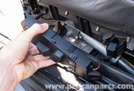 bmw e60 5 series seat switch testing and replacement 2003 2010 switch replacing remove the seat switch from the seat