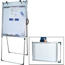 Chart Board Stz Portable Magnetic Flip Chart Board 70 X 96cm