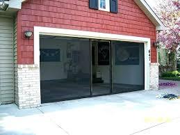 bifold garage door residential doors screens vertical
