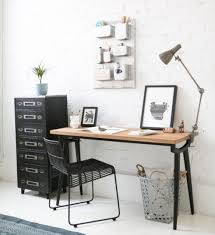 armchairs for small rooms uk. scandi-style small home console desk with chair, lamp and filing cabinet armchairs for rooms uk