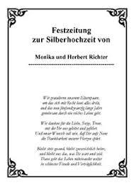 Texte Und Gedichte Zur Silbernen Hochzeit