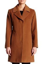 Nordstrom Rack Winter Coats Lyst Fleurette Wool Blend Coat In Brown 81