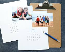 make a gorgeous personalized calendar with these free printable pages for 2019 easy inexpensive use pics of your own