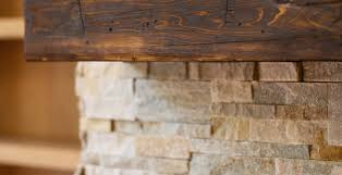 fireplace mantel reclaimed wood interior custom home photos from a trusted winchester builder