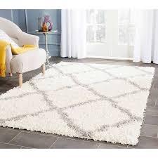 white shag rug. Amazing White Shag Area Rug In Fuzzy Ritzcaflisch 8
