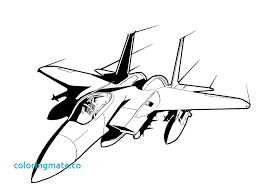 jet coloring pages fighter airplane jet color pictures print