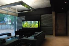 Built in Modern Fish Tank Cabinet