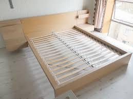 ikea malm bed frame light color