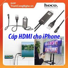 Cáp hdmi cho iPhone iPad Hoco UA14 Full HD 1080P dài 2m