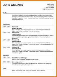 12 Creating A Resume Template Grittrader