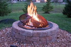 stone fire pit ideas. Stone Astounding Backyard Decoration By Building Fire Pit : Fabulous Home Exterior And Using Round Ideas