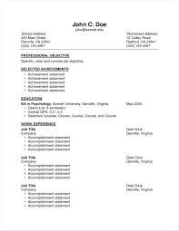 Achievement Based Achievement Sample Resume Academic Achievements