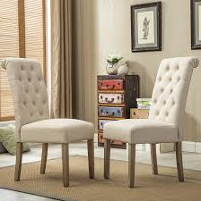 nailhead dining chairs dining room. Photo 5 Of 7 Awesome Beige Leather Dining Room Chairs Home Design Ideas #5 : Parsons Chair Nailhead