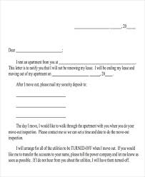 Rental Letter Template Landlord Letter Templates 10 Free Sample Example Format