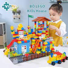 GIẢM GIÁ 40%] Bộ Xếp Hình Lego Kids House 238 Chi Tiết Cho Bé chính hãng  462,000đ