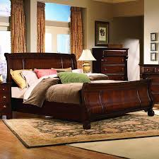 Sleigh Bedroom Furniture Vaughan Furniture Georgetown King Size Traditional Sleigh Bed