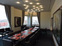 the art a hotel a private dining room at the fire restaurant on the