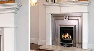 white wooden fireplace surrounds description white