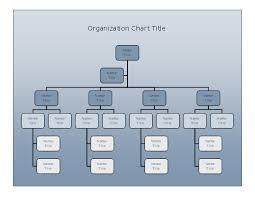 Organizational Chart Maker Free Download Download Company Organizational Chart Blue Gradient Design