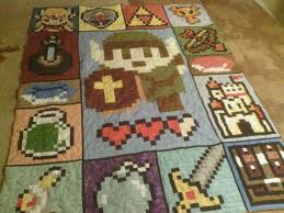 Zelda quilt! This is the kind of stuff I would want to make if I ... & Zelda Video Game 72 x 90 Quilt Adamdwight.com