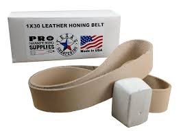 8 leather stropping wheel buffing compound included pro sharpening supplies for
