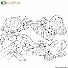 Vlinder Kleurplaat Luxe Bloemen Kleurplaten Eenvoudig Kleurplaten