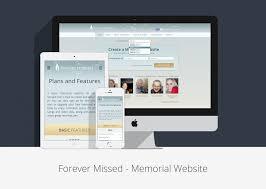 Memorial Website Design Social Network Design Desart Lab