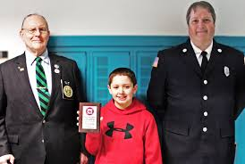 brockport student wins fire prevention essay contest westside news tyler kohr a 7th grader at brockport s oliver middle school was recognized for an